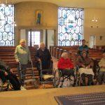 Besuch der katholischen Kirche